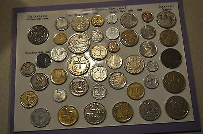 Coins Currency Collection from Israel 1927-1985