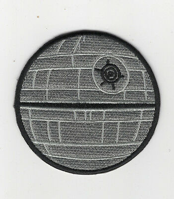 Star Wars Death Star Patch 2 1/2 inches tall patch