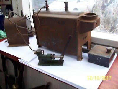 Vintage Stuart Turner Babcock Boiler SS501 & Other Items