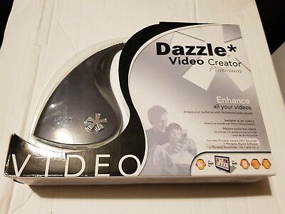 PINNACLE DAZZLE VIDEO CREATOR PLATINUM + DVD Recorder + Software + Scorefitter