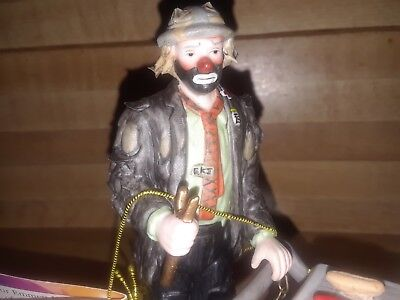 The Emmett Kelly Collection Exclusively From Flambro In Great Condition