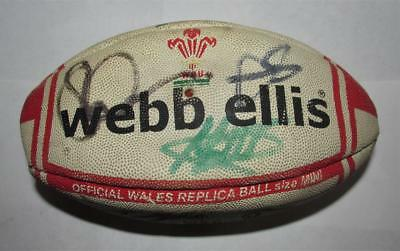 Wales Rugby Team Signed Mini Ball
