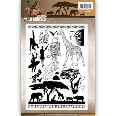 Stanzschablone Clear Stamp Scrapbooking,Big Shot, Die,Wild Animal