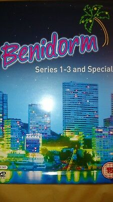 Benidorm Dvd Series 1-3 And Special Set