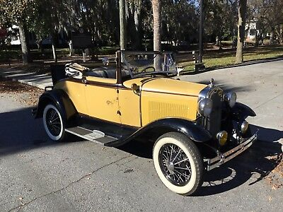 1930 Ford Model A Cabriolet Convertible 1930 Ford Model A Cabriolet 68-B