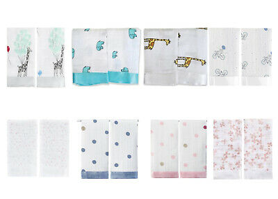 aden and anais muslin baby Issie security blanket comforter 2 pack