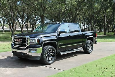 2016 GMC Sierra 1500 SLT Crew Cab Z71 Texas Edition One Owner Perfect Carfax Heated and Cooled Seats Nav Moonroof Z71 MSRP $54715