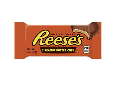 Reeses Peanut Butter Cups Creamy Milk Chocolate 2 Pack Never Opened + NEW