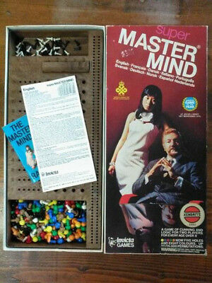 Super Mastermind by Invicta Games: Complete Set of Master Mind (Used.)