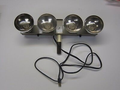 "RARE - Photo Light - Logan Electric Specialty - Model No. 330 4 Lite ""Mini"" Bar"