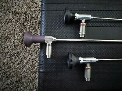 LINVATEC T2930 Arthroscope 2.9mm 30 degree x 2, STRYKER 30 degree 5.5mm (Bundle)