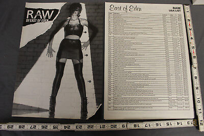 RAW by East of Eden vintage catalog with OG order forms