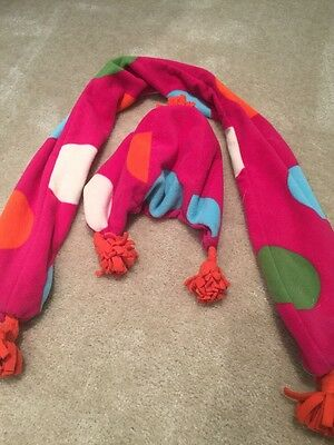 Girls Fleece Hat And Scarf From Gap
