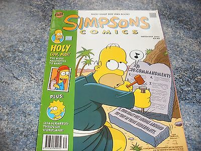 The Simpsons September 2002 Comic 70 Thou Shalt Buy This Book