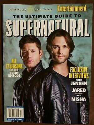 Entertainment Weekly Special Edition The Ultimate Guide To Supernatural