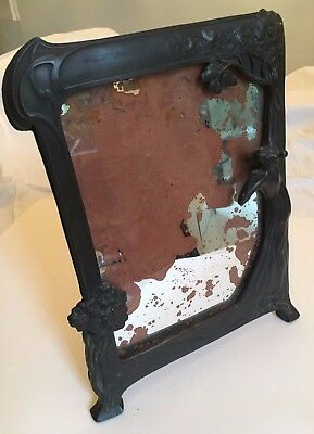 WMF ART NOUVEAU MIRROR seen better days!