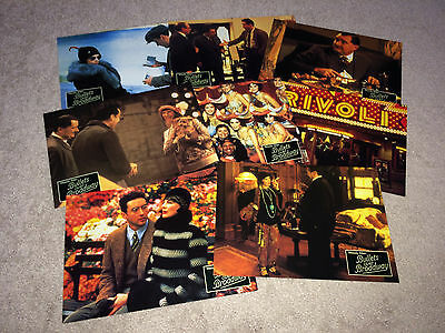 BULLETS OVER BROADWAY Orig Lobby Card Poster Set 1994 Woody Allen Comedy Cusack