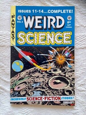 Weird Science Annual TPB Vol 3 EC Comics Golden Age (1952) Gemstone 1992/1993