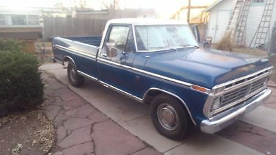 1973 Ford F-100 Ranger trim package 1973 Ford