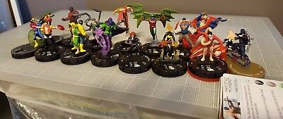 Heroclix SUPER RARE + CHASE lot of 13 figures