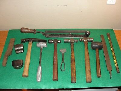 15 Piece Auto Body Tools Set, Blacksmithing / Forging, Hammers, File, Machinist