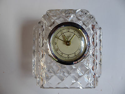 Mechanical Wind Up Mantle Desk Clock with Alarm function. Made in Germany.