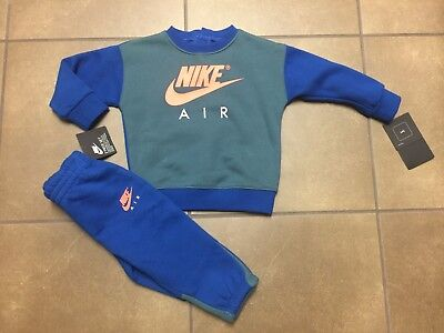 Nike Baby Boy 2 Pc Set Shirt And Pants Jogging Outfit 12 Month New With Tag