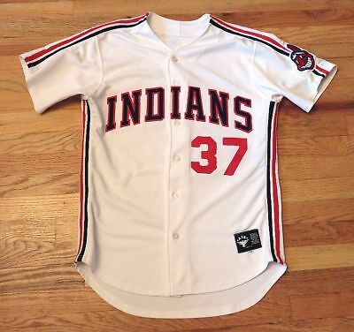 Major League 2 Movie ~ Screen Worn Cleveland Indians White Home Jersey With Loa