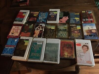 Lot Of 20 Audiobooks On Cassette