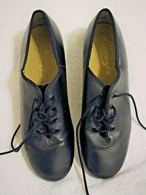 Capezio TeleTone Black Tap Shoes, size 9M, style #CG55, very good condition