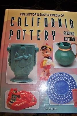 Identification/price Guide Book On California Pottery