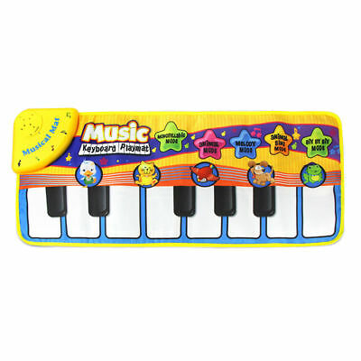 Music Kid Piano Play Baby Mat Animal Educational Soft Kick Dance and Learn Toys