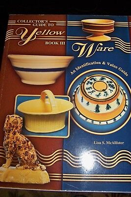 Identification/price Guide Book On Yellow Ware Volume 3