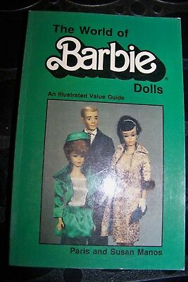 Identification/Price Guide Book On The World Of Barbie Dolls