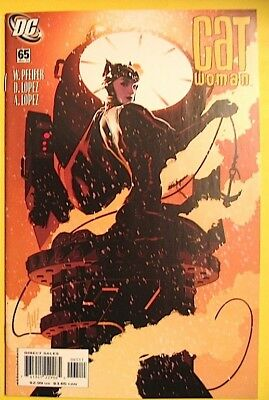 CATWOMAN Issue 65 May 2007 DC Comics ADAM HUGHES Cover Lopez Interior Art NM
