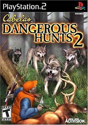 SONY PlayStation 2 PS2 Cabela's Dangerous Hunts 2 (COMPLETE)