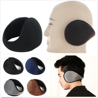 Ear Muffs Fleece Earwarmer Winter Ear warmers Mens Womens Behind GRO