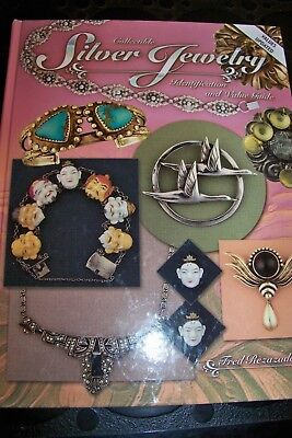 Identification/price Guide Book On Collectible Silver Jewelry