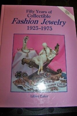 Identification/Price Guide Book50 Years Of Collectible Fashion Jewelry 1925-1975
