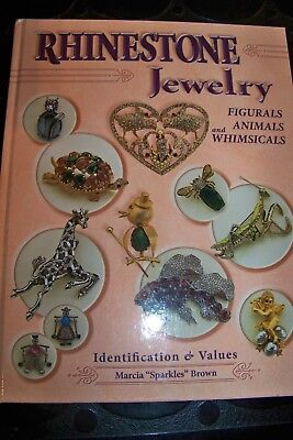 Identification/price Guide Book Rhinestone Jewelryfigurals,animals And Whimscals