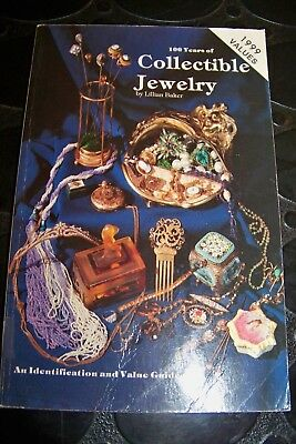 Identification/Price Guide Book 100 Hundred Years Of Collectible Jewelry
