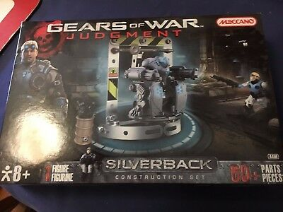 Gears of War Judgment Meccano 8+ Construction Set