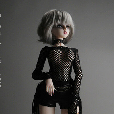 Dollmore clothes fit 1/3 BJD SD - Glam Net All-in-one (Black)
