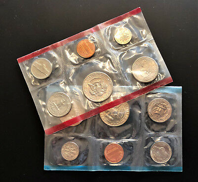 Set of 2 x 1979 UNITED STATES (US) 6 Coin Sets ** P & D Mints ** SEALED & UNC!!
