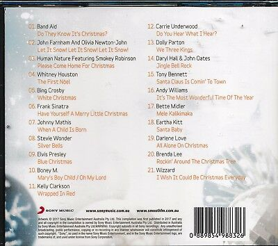 Smooth FM Presents Best of Christmas CD NEW Band Aid Human Nature Whitney Mathis