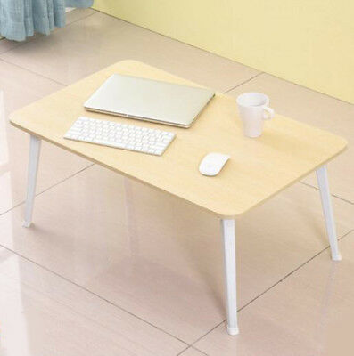 D31 Yellow Bedroom Furniture Laptop Computer Desk Artificial Board Foldable