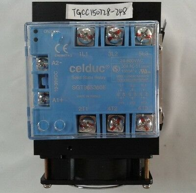 celduc Solid State Relay SGT965360E with heatsink