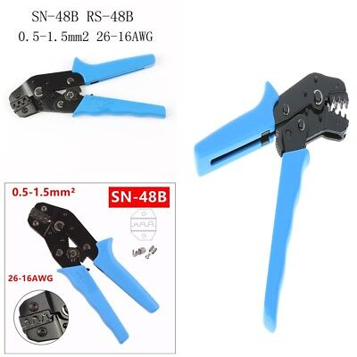 Durable 26-16AWG SN-48B Crimp Tool Clamp Handle Pliers Tools for Cable Connecter