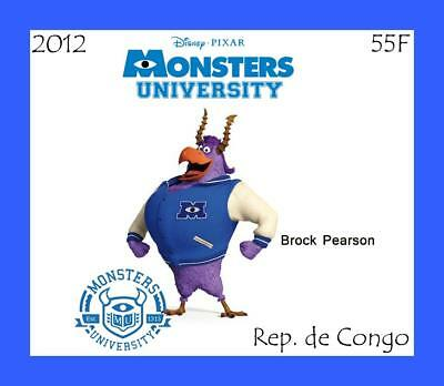 Congo 2012 22 Deluxe Sheets Monsters Disney Animation