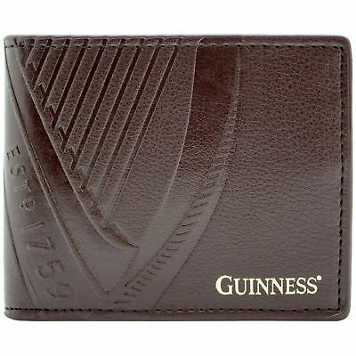 New Official Guinness Dry Irish Stout  Brown Coin & Card Bi-Fold Wallet